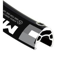 Обод 29/28″ 6-152919 двойной пистонированный для дискового тормоза (622X26/19х18мм 32 отверстия) 500г, черный MD19 ALEXRIMS