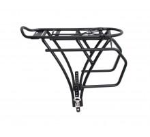 Багажник 6-155 алюминиевый CD-15B 20-24″ 3-х стоечный регулируемый сварной, для детских велосипедов черный OSTAND