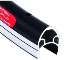 Обод 28″ 6-162825 двойной с индикатором износа (622х19/14х22мм 32 отверстия) черный A-M5 SHINING