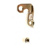 Держатель 6-170012 ″петух″ A-HG012 для заднего переключателя, серебристый A-FORGE