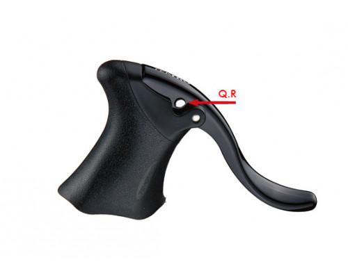 Тормозные ручки 6-170349 алюминиевые RL340 ROAD для руля 24,2мм, черные TEKTRO