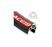 Обод 20″ 6-190132 для складных и пр. вело. двойной с индикатором износа (406х21,8/16,5х18,2мм 32 отверстия) черный ACE18 ALEXRIMS