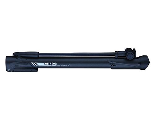 Насос 6-190640 GM-64P пластиковый с гибком удлиненным шлангом, универсальная головка, Т-ручка, с ножным упором, черный GIYO