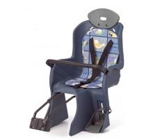 Сиденье 6-639881 детское на подседельный штырь с поручнем и с подголов до 22кг 310*670*310мм синее