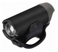 Фара 6-6541109 1диод повышенной яркости 3W 150люм/4функции GLI-002 Li-Ion АКБ USB-зарядка алюминиевый корпус черная GEOTECH