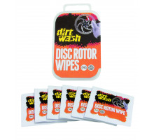 Очищающие салфетки 7-04022 для тормозного ротора, ободов DIRTWASH 6шт WELDTITE