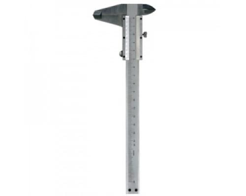 Инструмент 7-07912 штангенциркуль, предназначен для высокоточных измерений серебристый проф. CYCLO