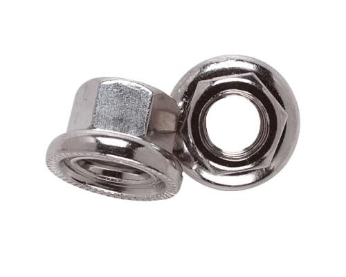 Гайка 7-08371 оси 9.0мм антиоткручивающаяся вращающаяся шайба с насечкой легированная сталь WELDTITE
