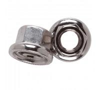 Гайка 7-08373 оси 10.0мм антиоткручивающаяся вращающаяся шайба с насечкой легированная сталь WELDTITE