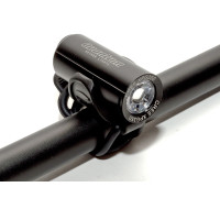 Фара 8-12002340 1диод LED CREE XP-G2 350люмен/4функции A-QUANTUM Li-Ion АКБ USB-зарядиод+кабель 63г. черная AUTHOR