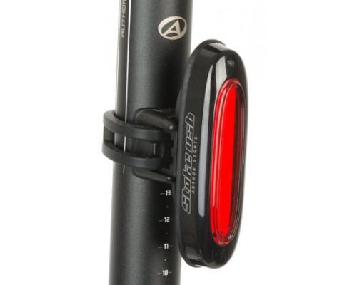 Фонарь 8-12039133 задний 1диод повышенной яркости COB/3функции A-Stake USB красный вертикальный/горизонтальный, прорезининый AUTHOR