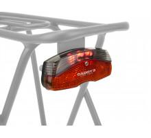 Фонарь 8-12039141 задний на багажник 3диода/1функция A-Caddy 3 красный 180` видимость с батарейками AUTHOR