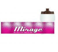 Фляга 8-14060010 пластиковая бело-розовая д/детских велосипедов MIRAGE 0.35л AUTHOR
