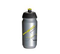 Фляга 8-14064016 100% биопластиковая AB-Tcx-Shiva X9 0.6л серебристо-неоновая TACX/AUTHOR (Голландия)