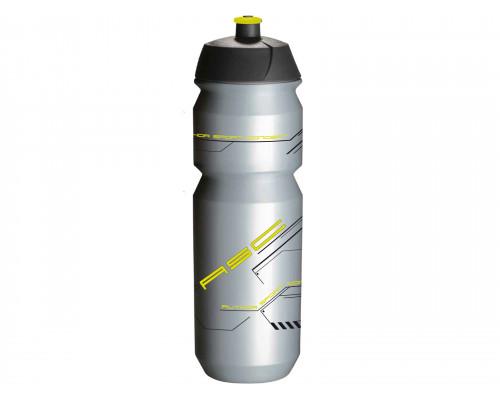 Фляга 8-14064216 100% биопластиковая AB-Tcx-Shiva X9 0.85л серебристо-неоновая TACX/AUTHOR (Голландия)