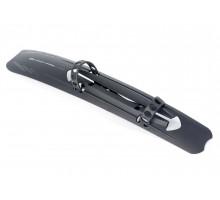 Крыло-щиток 8-16150027 пластиковый X-Mudy Cross 28″ передний на раму б/съемное черный AUTHOR