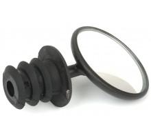 Зеркало 8-16450001 круглое D=45мм панорамное AM-45 3 степени свободы торцевое крепление черное AUTHOR