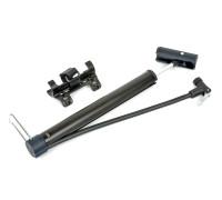 Насос 8-18101046 алюминиевый AAP Cross2 шланг.+ножной упор. универсальная головка Т-ручка черный AUTHOR
