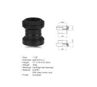 Рулевой набор 8-23950051 ACO-HS04 алюминиевый-сталь полукартридж 1 1/8″ AHEAD 28,6/34/30 черный AUTHOR