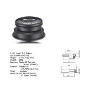 Рулевой набор 8-23950105 ACO-А13H Int. алюминиевый полукартридж 1 1/8″/1.5″ AHEAD 39,8/44/56 черный AUTHOR
