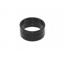 Рулевой спейсер 8-23950354 (проставочное кольцо) спорт. 1 1/8″ алюминиевый 15мм черный AUTHOR