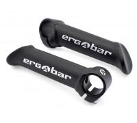 Рога 8-33152005 алюминиевые короткие ABE-302 Blk ERGOBAR прямые сварные черные AUTHOR
