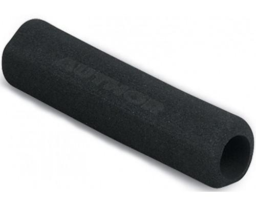 Ручки 8-33451002 на руль AGR-F136-125мм Blk полиуретан эргоном. черные AUTHOR
