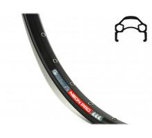 Обод 8-36091530 26″ двойной пистонированный для дискового тормоза (559х24,5/18х20,7 32 отверстия) спортивный черный Neon Pro AUTHOR