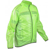 Велокуртка/дождевик 8-7057615 RAIN DINTEX салатовая на молнии размер XXL AUTHOR