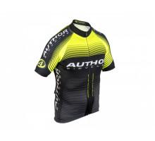 Велофутболка 8-7059785 PROFI X0 профессиональная линия ARP черно-неоново-желтая размер XL AUTHOR
