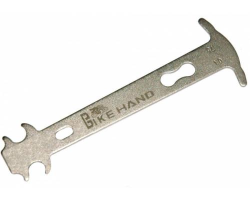 Цепеметр (калибр) 6-14503 YC-503 механический индикатор 0,75/1% износа серебристый BIKEHAND
