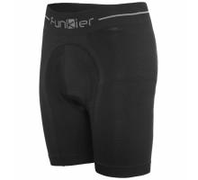 Велотрусы 12-702 Sestriere BSS6001-B9 Seamless-Tech Boxer Shorts с памперсом B9, 95%-Nylon, 5%-Spandex, черные размер M-L FUNKIER