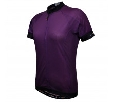 Велофутболка 12-726 женская PARMA JW-930 Purple Women Active Short Jersey, с длинной молнией, водонепроницаемый карман, фиолетовая размер L FUNKIER