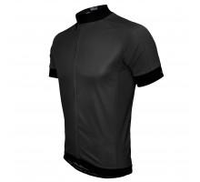 Велофутболка 12-822 PARMA J-930 Black Men Active Jersey с длинной молнией, водонепроницаемый карман, черная размер L FUNKIER