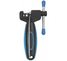 Выжимка 5-880031 профи д/всех типов цепей, запасной пин, антискользящее покрытие рукоятки, черно-синяя M-WAVE