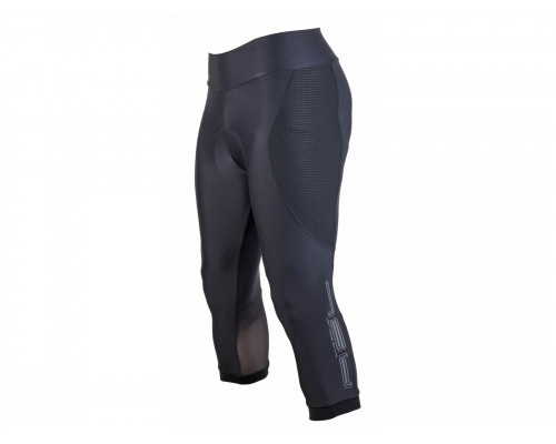 Велошорты/бриджи 8-7106704 женские Lady Sport X8 с памперсом черные размер L AUTHOR