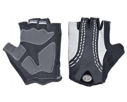 Перчатки 8-7130546 PalmAir черные размер размер M гель/лайкра/синтетическая кожа с петельками AUTHOR