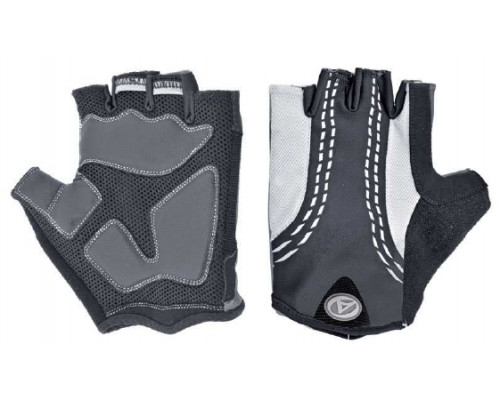 Перчатки 8-7130548 PalmAir черные размер размер XL гель/лайкра/синтетическая кожа с петельками AUTHOR