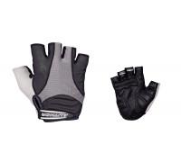 Перчатки 8-7130583 Men Elite Gel черные размер размер L гель/лайкра/синт.кожа с петельками AUTHOR
