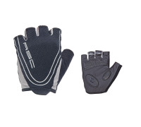 Перчатки 8-7130650 Men Race Pro черные размер размер S гель/лайкра/синтетическая кожа с петельками AUTHOR