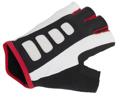 Перчатки 8-7130730 Men ARP 14A черно-бело-красные размер размер S гель/лайкра/синтетическая кожа с петельками AUTHOR