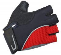 Перчатки 8-7130741 Team X6 красно-черные размер размер S синтетическая кожа/неопрен с петельками AUTHOR