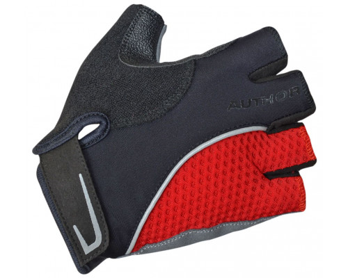 Перчатки 8-7130743 Team X6 красно-черные размер размер L синтетическая кожа/неопрен с петельками AUTHOR