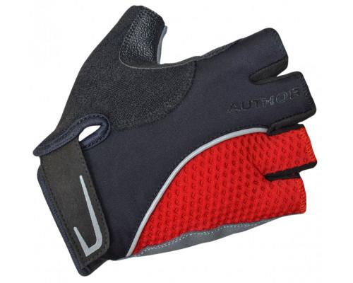 Перчатки 8-7130744 Team X6 красно-черные размер размер XL синтетическая кожа/неопрен с петельками AUTHOR