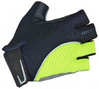 Перчатки 8-7130748 Team X6 неоново-желто-черные размер XS синтетическая кожа/неопрен с петельками AUTHOR