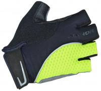Перчатки 8-7130749 Team X6 неоново-желто-черные размер размер S синтетическая кожа/неопрен с петельками AUTHOR