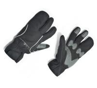 Перчатки 8-7131071 длинные пальцы ″лобстеры″ Arctic утепленные, черно-cерые размер M ветрозащитные, дышащая мембрана AUTHOR