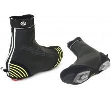 Защита обуви 8-7202070 H2O-PROOF размер M размер 40-42 черная с неоновыми светоотражающими вставками AUTHOR