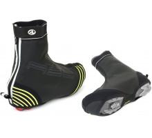 Защита обуви 8-7202071 H2O-PROOF размер L размер 43-44 черная с неоновыми светоотражающими вставками AUTHOR