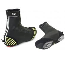 Защита обуви 8-7202072 H2O-PROOF размер XL размер 45-46 черная с неоновыми светоотражающими вставками AUTHOR